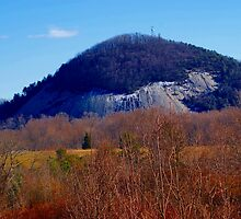 Glassy Mountain Near Pickens South Carolina USA by Roger Jewell