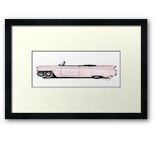 1964 Custom Pink Cadillac Framed Print