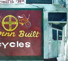 San Jose Bike Shop by Kirt Hardcastle