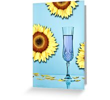 Cocktails with Van Gogh - Print Greeting Card