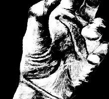 Hand Sketch  by Pope Van Cleef