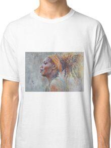 Serena Williams - Portrait 3 Classic T-Shirt