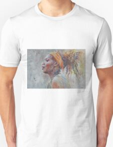 Serena Williams - Portrait 3 Unisex T-Shirt