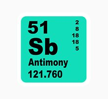 Antimony Periodic Table of Elements Unisex T-Shirt