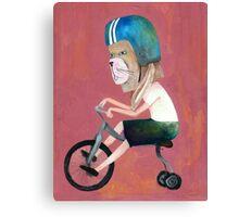 conejo en bicicleta 2006 Canvas Print