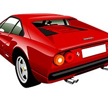 Ferrari 308 GTB  by car2oonz
