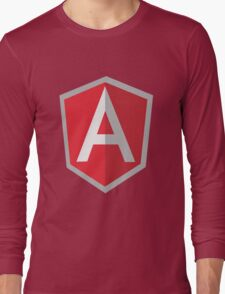 Angularjs geek funny nerd Long Sleeve T-Shirt