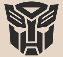 Autobot shield solid geek funny nerd by katabudi