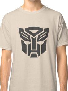 Autobot shield solid geek funny nerd Classic T-Shirt