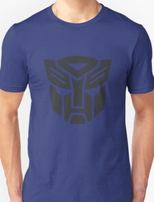 Autobot shield solid geek funny nerd Unisex T-Shirt