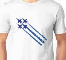 Blue angels diamond geek funny nerd Unisex T-Shirt