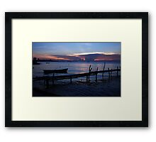Gulf of Siam View Framed Print
