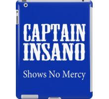 Bobby boucher captain insano shows no mercy geek funny nerd iPad Case/Skin