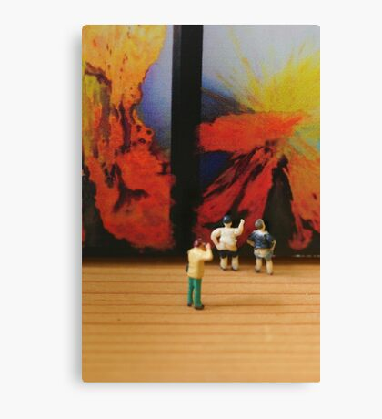 What John really wanted to create was a diptych, but ended up with a double exposure. Canvas Print