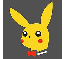 Playboy pikachu Photographic Print