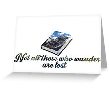 Tolkein-Inspired Quote Greeting Card