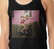 conejo en bicicleta 2013 Tank Top