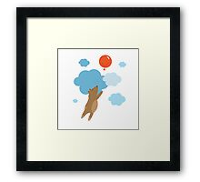 Balloon. Framed Print