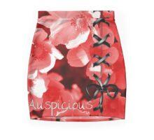 Auspicious Red Mini Skirt