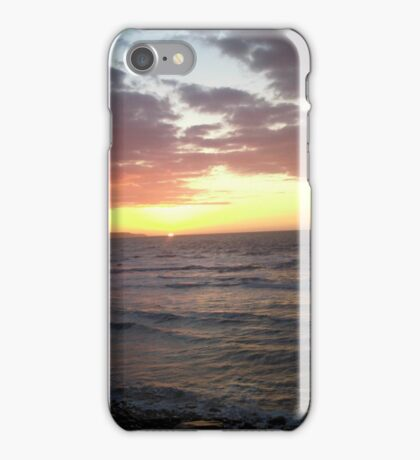 Sunset landscape  iPhone Case/Skin
