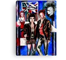 Punk Rock alternative Style  Canvas Print