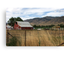 An Afternoon in the Country  Canvas Print