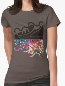 Sneaker running shoe reflection hippie psychedelic T-Shirt