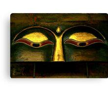 buddha eyes. thai style Canvas Print