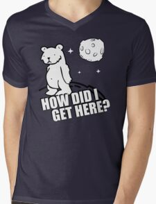 Desmond the Moon Bear Funny Humor Hoodie / T-Shirt Mens V-Neck T-Shirt