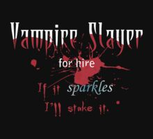 Vampire Slayer by fishbiscuit