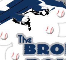 Bronx bombers geek funny nerd Sticker