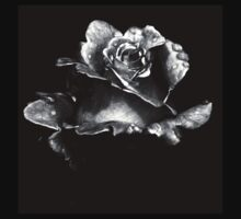 Perfect rose in black and white Kids Clothes