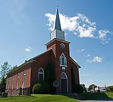 Gordon Presbyterian Church, St. Elmo. 1864. by Mike Oxley