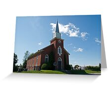 Gordon Presbyterian Church, St. Elmo. 1864. Greeting Card