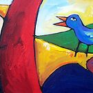 MIDDAY  SONG  by ART PRINTS ONLINE         by artist SARA  CATENA