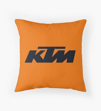 KTM Throw Pillow