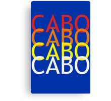 Cabo geek funny nerd Canvas Print