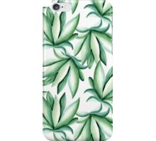 Green pattern iPhone Case/Skin