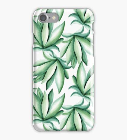Green pattern iPhone Case/Skin
