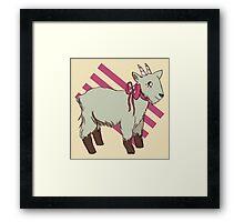 goat bow Framed Print