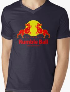 Rumble ball Mens V-Neck T-Shirt