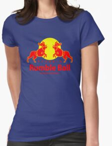 Rumble ball Womens Fitted T-Shirt