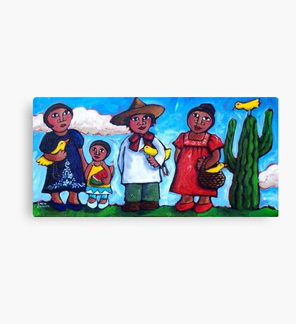 ON  THE  ROAD  TO  GUADALAJARA -  MEXICO   Canvas Print