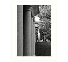 UVa Lawn 8 Art Print