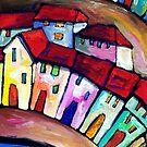PORT  PELEGRI - SPAIN   by ART PRINTS ONLINE         by artist SARA  CATENA