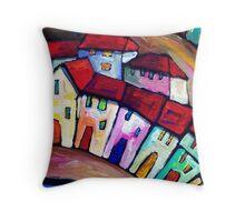 PORT  PELEGRI - SPAIN   Throw Pillow