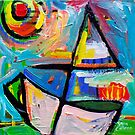 SAILING  1  by ART PRINTS ONLINE         by artist SARA  CATENA