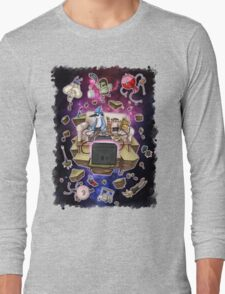 Regular Show Lost in Universe Long Sleeve T-Shirt