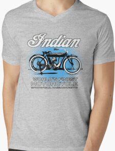 Vintage Indian Mens V-Neck T-Shirt