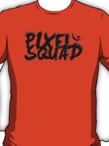 Pixel Squad Title BLACK T-Shirt